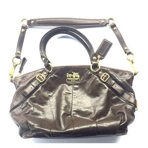 Coach 15960 Madison Leather Sophia Satchel Bag